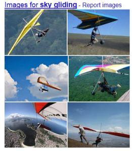 sky gliding